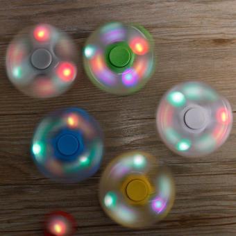 Đồ chơi con quay Cao Cấp Fidget Spinner LED Hàng Nhập Khẩu