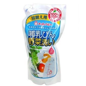 Túi thay thế nước rửa bình và rau củ Chuchu Japan 720ml 99341