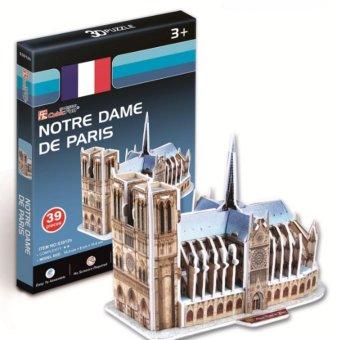 Bộ đồ chơi xếp hình 3D Puzzle 39 chi tiết