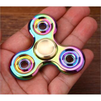 Con quay 3 cánh Fidget Spinner cao cấp Siêu Phẩm vòng bi vàng (Hot)
