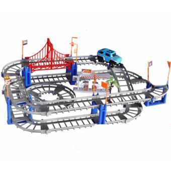 Bộ đồ chơi lắp ráp đường đua xe ô tô phát triển trí thông minh Trang Anh 57