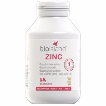 Vitamin Bio island (Kẽm) Úc 120v