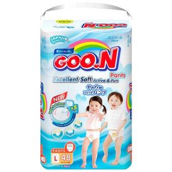 Tã quần Goon Super Jumbo L48 (9-14 kg)