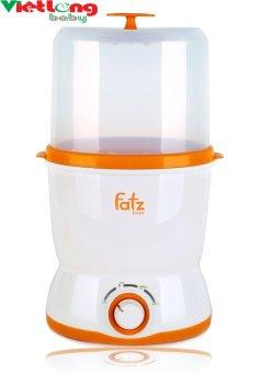 Máy hâm sữa 2 bình cổ rộng & tiệt trùng đồ dùng bằng hơi nước cao cấp Fatzbaby (Xuất xứ Hàn Quốc)