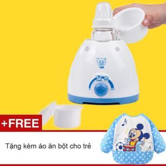 Máy ủ sữa và hâm cháo, bột cho bé GocgiadinhVN + Tặng áo ăn dặm