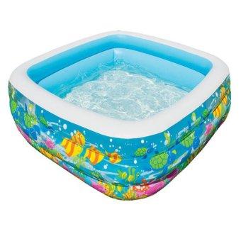 Bể bơi phao vuông đại dương Intex 57471