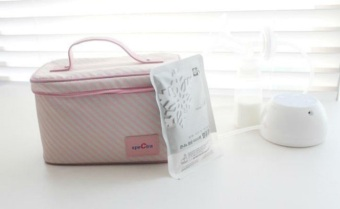 Túi giữ lạnh bình sữa Spectra Hàn Quốc 3366