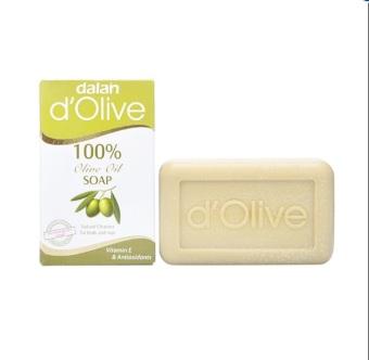 Xà phòng tắm gội toàn thân từ ô liu Dalan D'olive 100% Olive Soap 150g