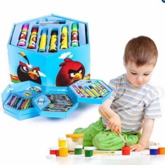 Hộp màu 4 tầng 4 loại 42 màu cho trẻ vui chơi sáng tạo trong hè