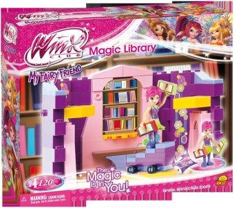 Bộ đồ chơi lắp ráp thư viện phép thuật của công chúa WinX COBI-25121