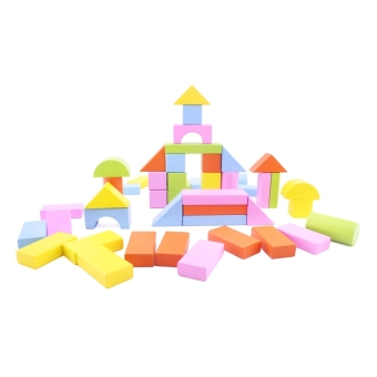 Bộ Xếp Hình Ngôi Nhà Bằng Gỗ Thông Minh Dream Toy (50 Miếng Gỗ) - USA 2720