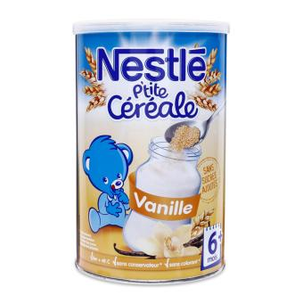 Ngũ cốc pha sữa Nestlé Céréale vị vani 400g (>6 tháng)