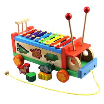 Đồ chơi xe ô tô gỗ DG1-038 (Đỏ)