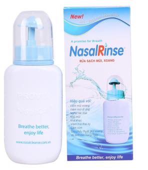 Bình rửa mũi cho bé Nasalrinse (Xanh)