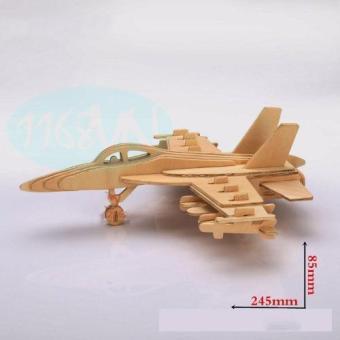 Bộ xếp hình 3D máy bay 01