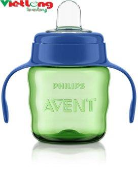 Bình tập uống Philips Avent 6M+ SCF551 200ml (xanh)