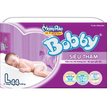 Tã dán siêu thấm Bobby Size L44 (9-13kg)
