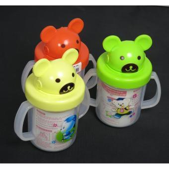 Bình tập uống nước có ống hút cho bé
