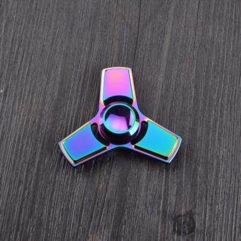 Con Quay đa sắc mầu bằng kim loại Fidget Spinner không ma sát xả stress Big Sale