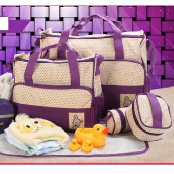 Bộ túi đựng đồ cho mẹ và bé 5 chi tiết