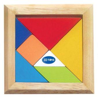 Tangram đơn bằng gỗ Winwintoys 60172