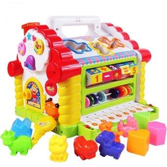Bộ đồ chơi ngôi nhà thông minh có nhạc