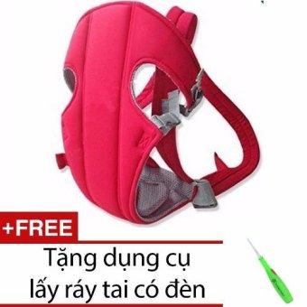 Địu em bé 4 tư thế Baby Carrier + Tặng dụng cụ lấy ráy tai có đèn