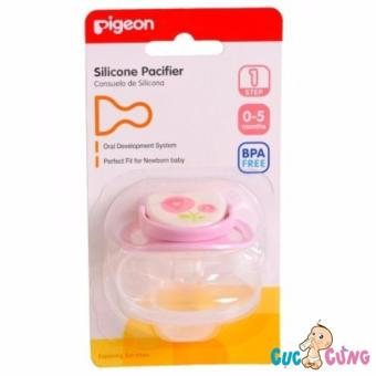 Ty ngậm Pigeon Silicone bước 1