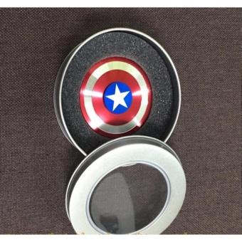 Con Quay siêu anh hùng bằng kim loại Fidget Spinner không ma sát xả stress