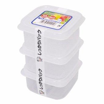 Bộ 3 hộp nhựa Nakaya 200ml Nhật