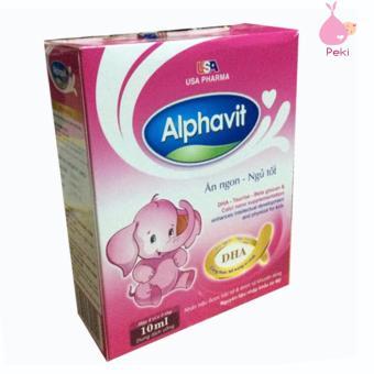 Alphavit Giúp Bé Ăn Ngon - Ngủ Tốt