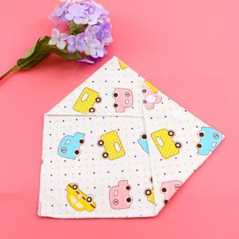 Bộ 10 khăn yếm hoạt hình cho bé
