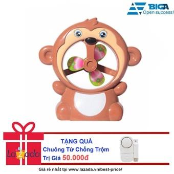 Khỉ Con Dễ Thương Kiêm Quạt Bàn Us04514 + Tặng Chuông Từ Chống Trộm