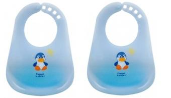 Bộ 2 yếm nhựa Canpol Babies 2/404