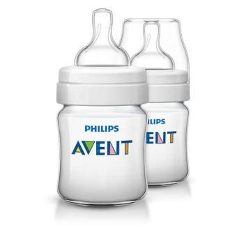 Bộ 2 bình sữa Philips Avent bằng nhựa không có BPA 125ml 560.27