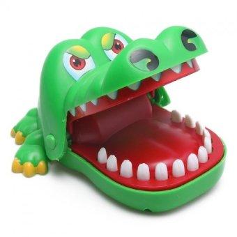 Bộ trò chơi khám răng cá sấu (Xanh)