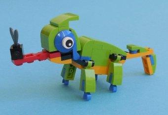 (Quà tặng không bán ) Đồ chơi lego Tắc Kè Hoa 30477 _53 chi tiết
