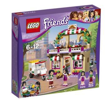 Hộp LEGO Friends Tiệm Bánh Pizza Heartlake 41311 (289 chi tiết)