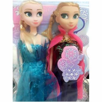 Bộ 2 búp bê nữ hoàng băng giá Frozen: Elsa và Anna cho bé