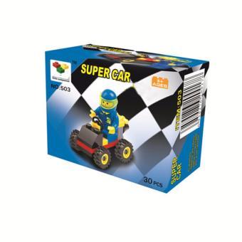 Bộ xếp hình đua xe 30 chi tiết cho bé yêu (MS 503)