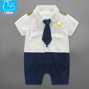 Bộ sơ sinh tạo hình phi công BS130