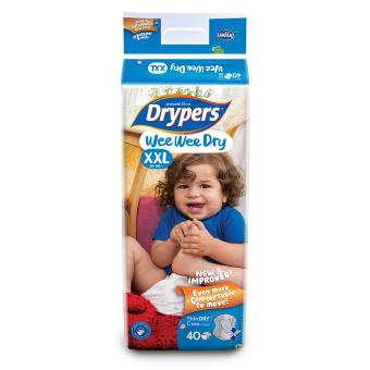 Tã dán Drypers Wee Wee Dry XXL 40
