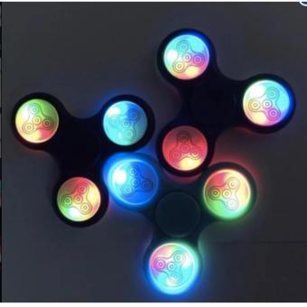 Đồ Chơi Con Quay Giúp Giảm Stress Fidget Spinner Đèn Led 7 Màu S02