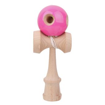 Wooden Kendama Toys- Pink - Intl