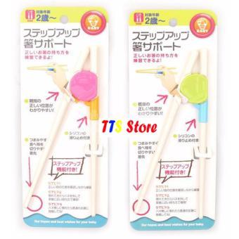 Bộ 2 đôi Đũa nhựa tập ăn cho trẻ TTS Store