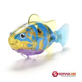 Bộ 10 Đồ chơi cá tự bơi trong nước Robo Fish (giao màu ngẫu nhiên)