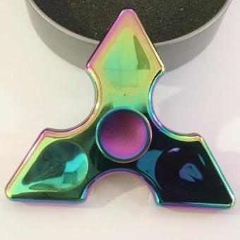 Con quay Fidget Spinner 3 cánh nhọn 7 màu cực đẹp