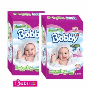 Combo 2 Gói Tã Dán Sơ Sinh Bobby Newborn1-56