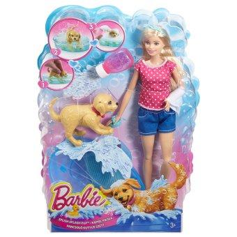Bộ đồ chơi phòng tắm thú cưng và búp bê BARBIE DGY83