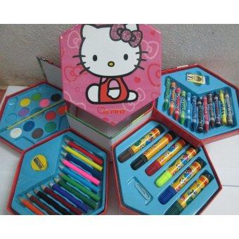 Hộp bút chì màu 4 tầng cho bé yêu